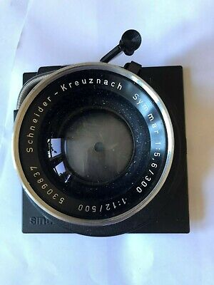 Schneider Kreuznach Symmar 5.6 300mm lens large format on Sinar mouse ear plate