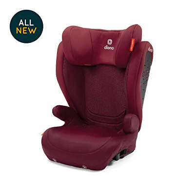 Diono Monterey 4 DXT Latch, The Original Expandable Booster Seat 40-120 lbs.,