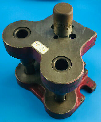 Fly Press Die Holder Tooling Fixing Bolster Punch (20)