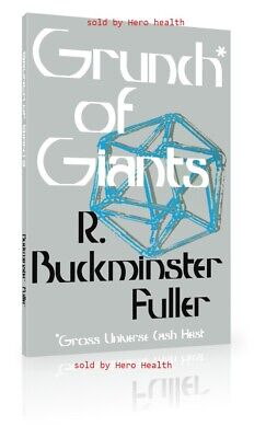 Grunch of Giants by Buckminster Fuller paperback