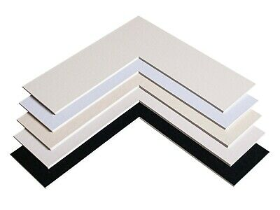 Photo / Picture Mounts   - Made To Order - Any Size (Metric)  Bespoke Bevel Cut