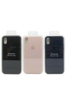 Genuine Apple Silicone Soft Case for the Apple Iphone X & XS OEM Authentic New