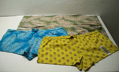 3 NEW Pcs.- 2) Secret Treasures Pajama Lounge Shorts & 1) Pants NWT 3X(22W-24W)