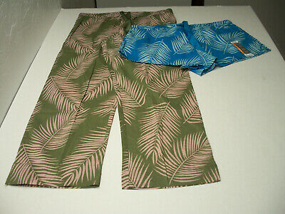 2 NEW Pcs.- Secret Treasures Pajama Lounge Shorts & Pants NWT size M  (8-10)