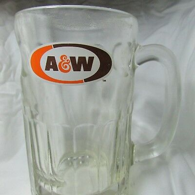 A & W Root Beer Glass Mug- Rare-Float