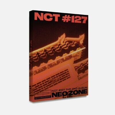 SM Artist NCT127 the 2nd Album [NEO ZONE] Official Postcard Book