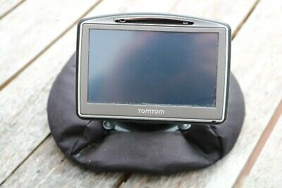 TomTom 720 Go Sat Nav with Home made Stand. Used.
