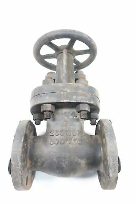 Hammond Valve Manual Iron Flanged Wedge Gate Valve 2in