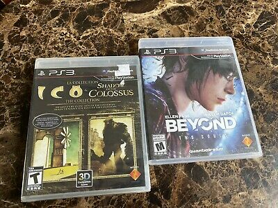 The Ico & Shadow of the Colossus Collection PS3 New & Beyond Two Souls Used