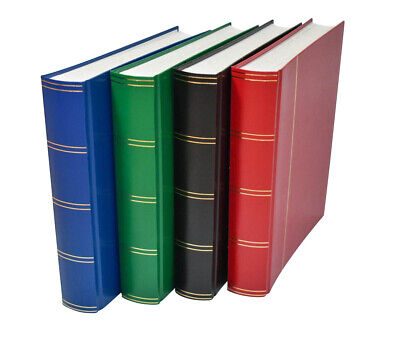 Large A4 Stockbook Stamp Album for Stamps 60 White Pages £17.95 - or 3 for £50