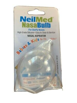 NeilMed Nasabulb Nose Aspirator 1 ea Babies And Kids