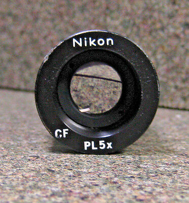 Nikon Cf Pl 5X 23Mm Microscope Photo Eyepiece Pl 5X - Mpc91020