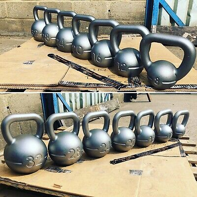 Kettlebells - Kettlebells - Kettlebells set Cast iron - Made In the UK 🇬🇧