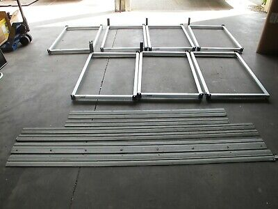 PIPP Mobile Storage Industrial Shelving Track & Carriage System