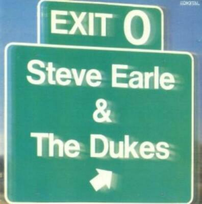 Steve Earle & The Dukes : Exit O CD Value Guaranteed from eBay's biggest seller!