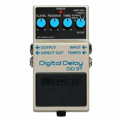 Boss DD-3T Digitale Pedale Delay