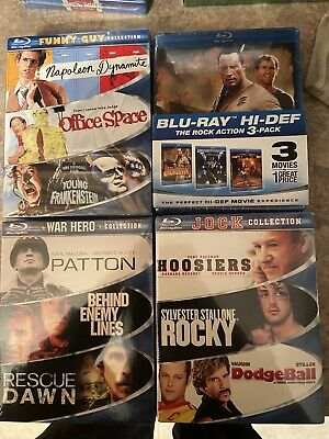 Blu Ray Wholesale Lot Of 12 Blu Rays 4 Box sets