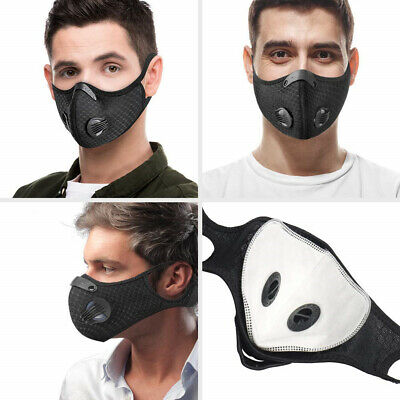 Anti-droplets Cycling Protective Mouth-muffle Face Shield Haze Fog Mouth Cover