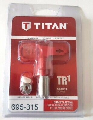 Titan 419 TR1 Line Striping Tip 697-419 or 697419 Painting Reversible New Tips