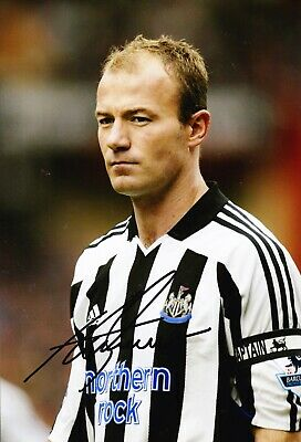 Alan Shearer Signed 12X8 Photo Newcastle United F.C. Genuine AFTAL COA (C)