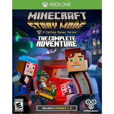 Telltale Games Minecraft : Story Mode-The Complete Adventure Xbox One Game
