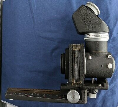 Leica Leitz Visoflex I with Bellow and Short Mount Hektor 135mm