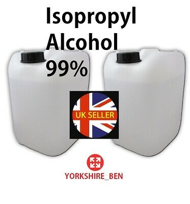 "Isopropyl Alcohol 99.9%, IPA, Isopropanol, Rubbing Alcohol "" NEXT DAY DELIVERY**"