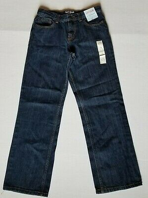 Girls Cat and Jack High Rise Adjustable WaistRelaxed Straight Size 12 YouthNew
