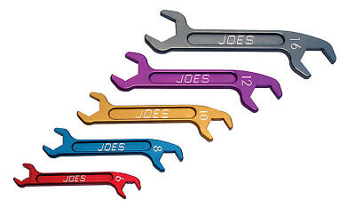 JOES RACING PRODUCTS Aluminum AN Wrench Set P/N 18000