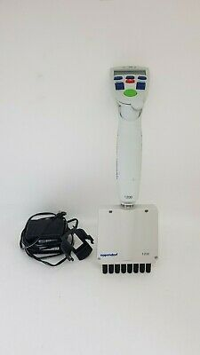 Eppendorf Research Pro Electronic 8-Channel Pipette 50-1200 ul with NEW BATTERY