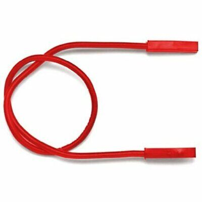 "Pomona 4741-12-2 0.025"" Square Pin Receptacle Patch Cord, 12"" Length, Red..."