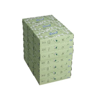 21 Boxes x Scott Facial Tissue Standard 100 Sheets Per Box  +Free 24h Delivery