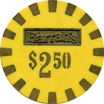 Harrah's, Lake Tahoe/Reno $2.50 casino chip R6 Rare 31-75