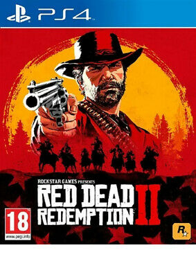 Red Dead Redemption 2 II PS4 Brand New Fast Delivery!