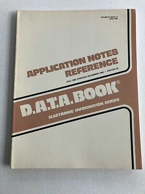 D.a.t.a. Semiconductor Application Notes Dec 1982 80S Electronics Edition 22
