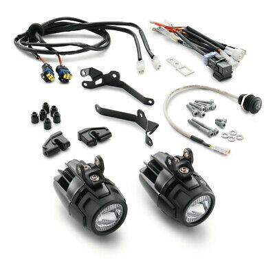 KTM 1290 Super Adventure R 17-19 Auxiliary Spot Lamp Light Kit 60714910133