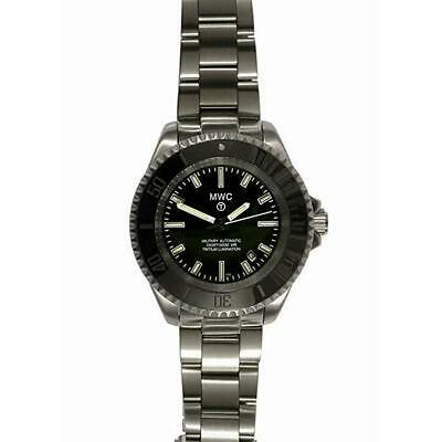MWC Heavy Duty Military DIVER SUA/SL/SS/BB Auto 300 mt. STAINLESS STEEL Bracelet