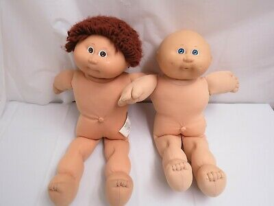 Lot Of 2 Cabbage Patch Dolls 1978 Coleco Play Collect