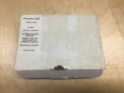 Webasto Thermo Call Type TC3