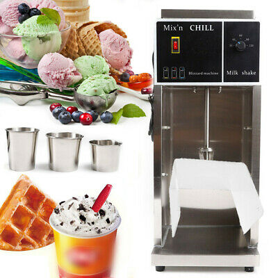 350W Commercial Electric Flurry Ice Cream Machine Maker Mixer Shaker Blender USA