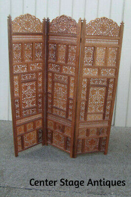 DOUBLE SIDED CANVAS DRESSING SCREEN ROOM DIVIDER 8309 ALL SIZES