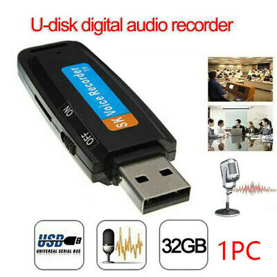 32G USB Digital Sound Voice Recorder Audio Record Pen Dictaphone Memory Stick