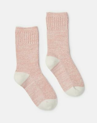 ANTIQUE GOLD Size 4-8 Joules Womens Trussell Knitted Sock