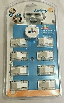 Safety 1st Tot Lok Magnetic Locking System 9 pc. Set  For Cabinets and Drawers