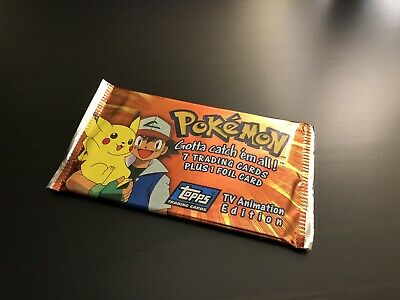 Box Fresh Factory Sealed Pokemon Topps Chrome Booster Pack Series 1