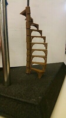 1:48 scale spiral stairs.
