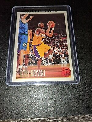 1996-97 Topps #138 Kobe Bryant Rookie Card RC MINT LAKERS MOST WANTED MAMBA