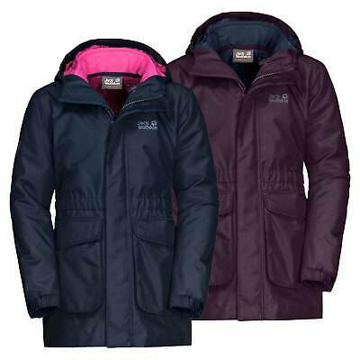 Jack Wolfskin Girls Ice Cave 3 in 1 Jacket RRP £90