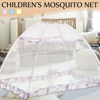 Baby Infant Mosquito Net Canopy Net Toddlers Travel Crib Canopy Bed Dustproof