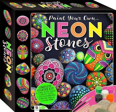 Neon Rock Painting. Paint Your Own Neon Rocks | Creative Stone/Rock Painting